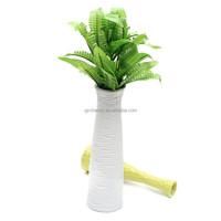 New Green Imitation Fern Plastic Artificial Grass Leaves Plant Display Flower for Home Wedding Xmas Decoration Arrangement