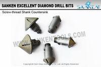 Taper Shank Drill Bit Glass Cutting Diamond Drill Bit