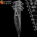 Transparente de acrílico prisma candelabro, gota de cristal do candelabro prisma om88455-600
