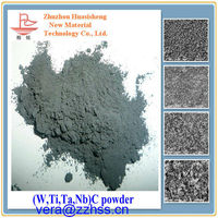 Compound carbide powder used in surface engineering high solid solution low Fe Titanium carbide ceramic grade powder