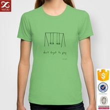 New Fashion Design Fitted Tee Cotton T Shirt Women 2015
