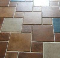 EMHR15001 Ceramic rustic tile floor tiles vintage tile blue handmade brick
