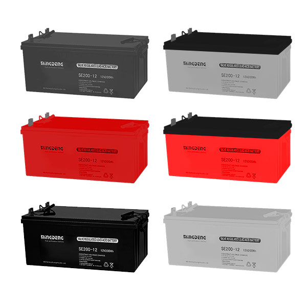 MINGDENG 200a 12 volt enersys lead acid battery