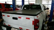 High Quality pick up bed cover for Nissan Frontiner Double Cab , 4.8' Bed 2005-2014 hard truck tonneau cover