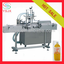 Automatic penumatic liquid filling line