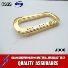 fashion light gold bag handle /bag ornament wholesale