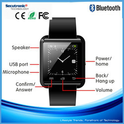 cheap smart watch bluetooth phone 2015 new product waterproof smart watch