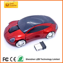 2.4g wireless car shaped mouse for gift, wireless gift mouse