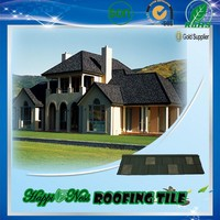 Stone Coated Metal Roof Sheet Happiness company factory in China with warehouse in Nigeria
