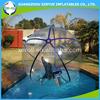 2015 new arriving giant clear pvc/tpu plastic bubble ball