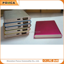 2015 top quality factory 8800 mah portable power bank