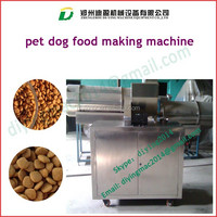 Pet Food Pelletizer Machine|Pellet Making Machine/Automatic extruded pet food pelletizer extrusion machine for dog cat fish