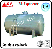 food grade heating stainless steel storage tank