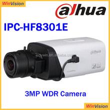 H.264 Alarm Input Dahua IPC-HF8301E Digital Camera Dahua Waterproof IP66 Netwok Camrea Support SD Card UP to Max. 64GB