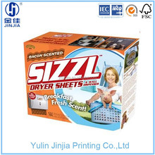 Glossy lamination paper Cardboard packaging boxes with SGS , ISO