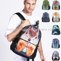 stuffed animal backpack, Best Selling Animal Printing Backpack for School Knapsack, BBP114