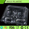 clear plastic cake/egg tart box/container
