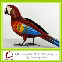 decorative metal trim craft metal parrot craft for festival decorations