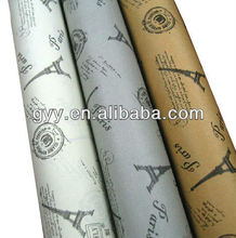 80g flowers wrapping gift paper in rolls 2014