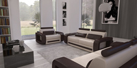 Wholesale alibaba home furniture sets cheap leather divan sofa prices 105C