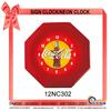 12NC302 Diamond-shaped Wall decoration Neon clock