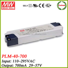 Meanwell PLM-40-700 700ma constant current led driver