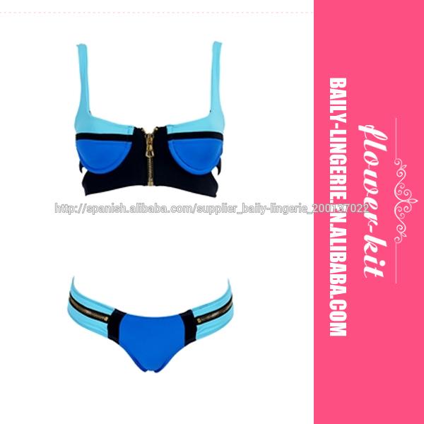 bikini con aro acolchado Beach Bunny Swimwear F4309 Nueva Sexy Trajes de baño de las señoras Bikinis