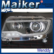 Modify headlight assembly For Jeep Compass MK 2011-14 4x4 accessories from Maiker