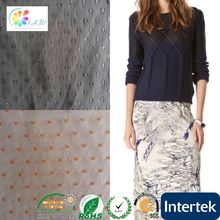 china wholesale embroidery design polyester fabric with peacock printing 100 cotton knitted fabric single jersey
