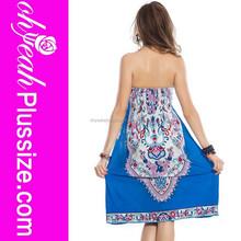 venta al por mayor de alta calidad hermoso vestido de hawaiano para las mujeres