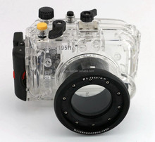 Meikon 60M Depth Of Waterproof And 1M Shockproof Camera Case For Sony RX100-III With A Alarm Apparatus