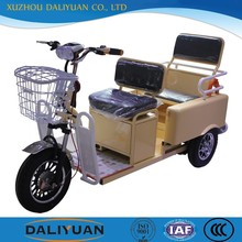 electric cargo tricycle tricycle double for twins for passenger