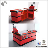 supermarket cashier counter table for sale