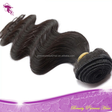 PrincessBeauty Hair 5A Cheap Unprocessed Body Wave and Deep Wave 100% european double drawn remy hair extensions
