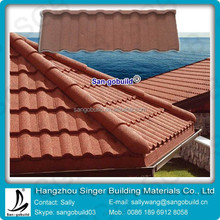 Aluminum Zinc Material Stone Coated Steel Roof Tile