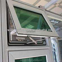 pvc smart windows tilt and turn double open type window