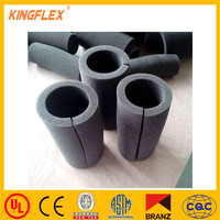 rubber inner tube material non flammable insulation rubber foam pipe