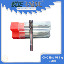 45/55 HRC Germany quality andtungsten carbide rough end mill made in china