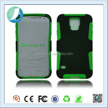 Hybrid Impact Mesh Net Peforated Dot soft silicone Gel Rubber Case for i9600