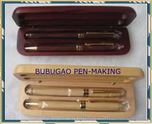 2015 hot wood pens sets from bubugao