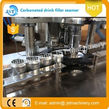 automatic PLC control carbonated beverage canning machine/ soft drink canning line 1000 cans /hour