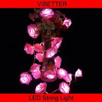 rose flower small battey led christmas light