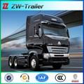 Sinotruk left hand drive tractor truck