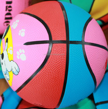 Excellent quality new coming nice looking rubber basketball size 1