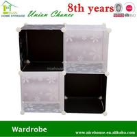 4 grid living room clothes diy cube storage