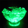 LED lighting cooler fruit plate/RGB LED Ice Fruit Plate