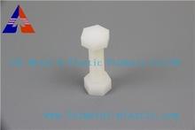 M8*25mm white plastic pp plastic nut/bolt