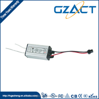 4-7W IP67 waterproof electronic led driver for ECO light