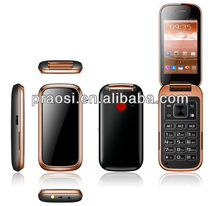 android system big keyboard old people 3G mobile phone with sos button