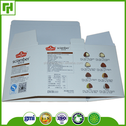 Paper packaging factory logo litho offset print coated paper box designs